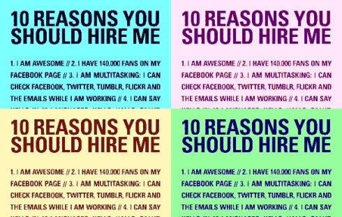 10 reasons you should hire me